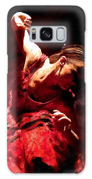 Flamenco Poise Galaxy Case by James Shepherd