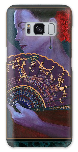 Galaxy Case featuring the painting Flamenco  by Ragen Mendenhall