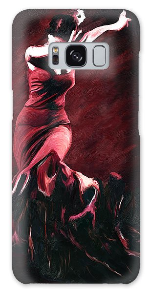 Flamenco Swirl Galaxy Case
