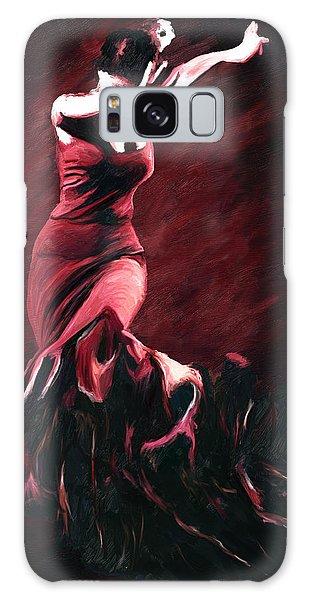 Flamenco Swirl Galaxy Case by James Shepherd