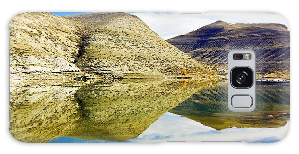 Flaming Gorge Water Reflections Galaxy Case
