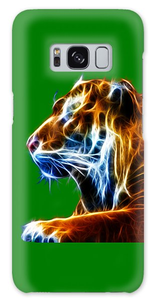 Flaming Tiger Galaxy Case