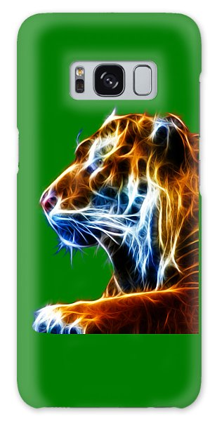Flaming Tiger Galaxy Case