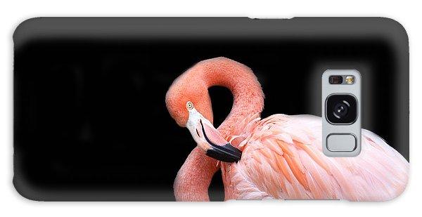 Flamingo 3 Galaxy Case