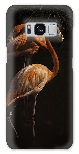 Flamingo Delight Galaxy Case