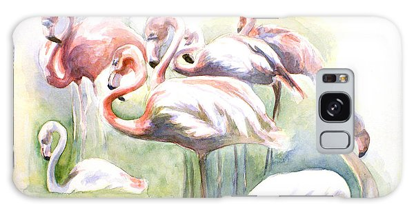 Flamingo Fiesta Galaxy Case