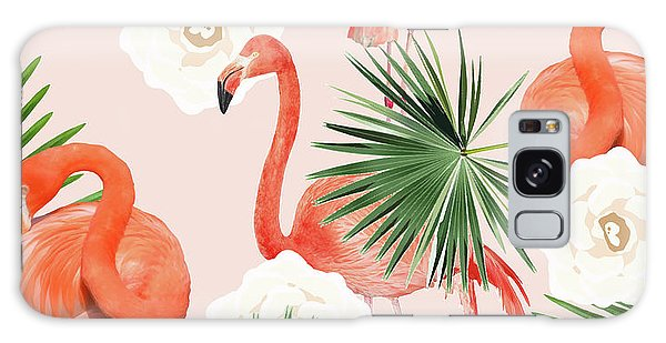 Flamingo Guava Galaxy Case