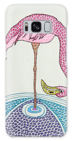 Flamingo I Galaxy Case