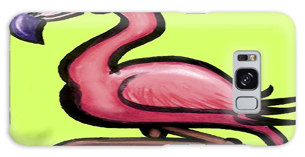 Flamingo Galaxy Case by Kevin Middleton