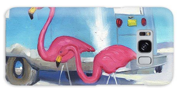 Flamingo Migration Galaxy Case