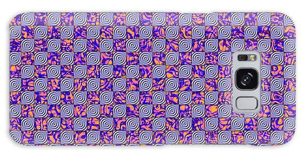 Flares, Squares And Ripples 4 Galaxy Case