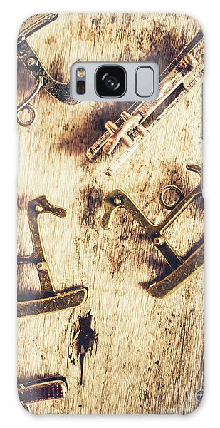 Decorative Galaxy Case - Flashback From The Wooden Toy Box by Jorgo Photography - Wall Art Gallery