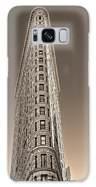 Flat Iron Building New York City Galaxy Case by Dave Mills