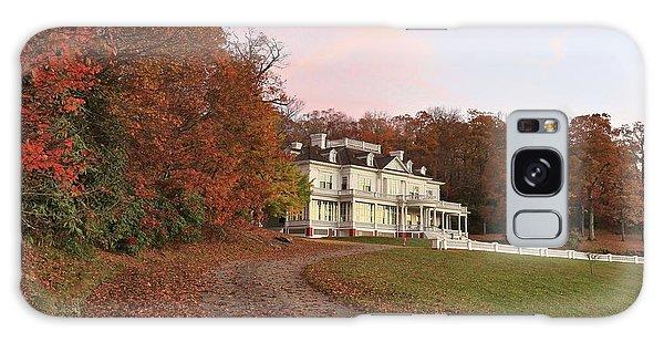 Flat Top Manor At Sunrise Galaxy Case