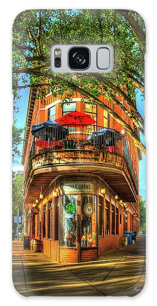 Flatiron Style Pickle Barrel Building Chattanooga Tennessee Galaxy Case by Reid Callaway
