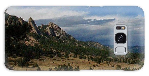 Flatirons, Boulder, Colorado Galaxy Case
