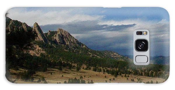 Flatirons, Boulder, Colorado Galaxy Case