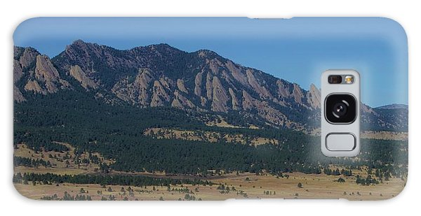 Flatirons Of Boulder Galaxy Case