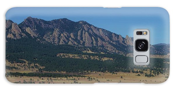 Flatirons Of Boulder Galaxy Case