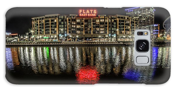 Flats East Bank Galaxy Case by Brent Durken