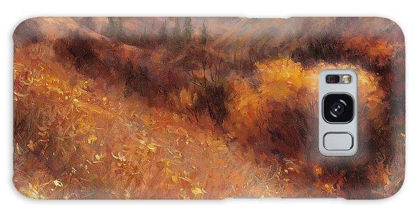 Pasture Galaxy Case - Flecks Of Gold by Steve Henderson