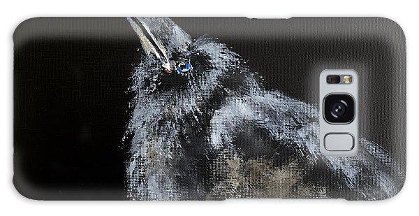 Fledgling Raven Galaxy Case