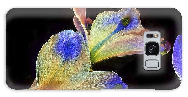Fleeting Flowers Galaxy Case
