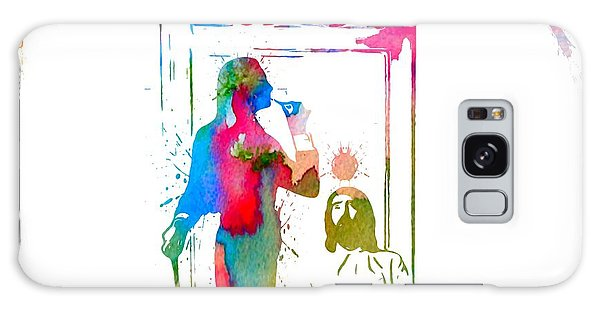 Fleetwood Mac Album Cover Watercolor Galaxy Case