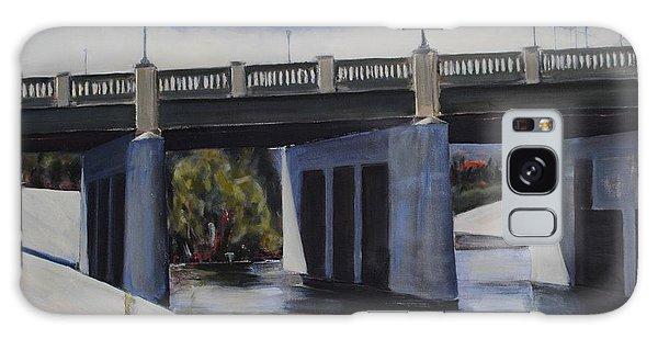 Fletcher Street Bridge Galaxy Case