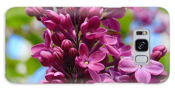 Fleur De Lilac Galaxy Case