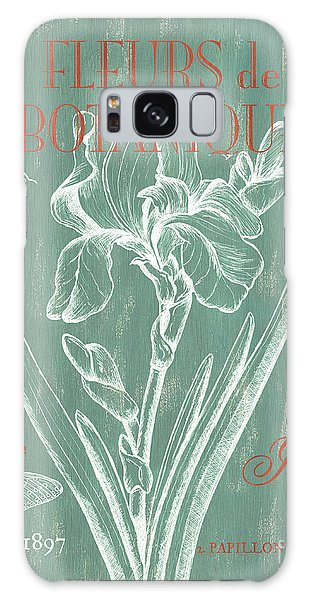 Scientific Illustration Galaxy Case - Fleurs De Botanique by Debbie DeWitt