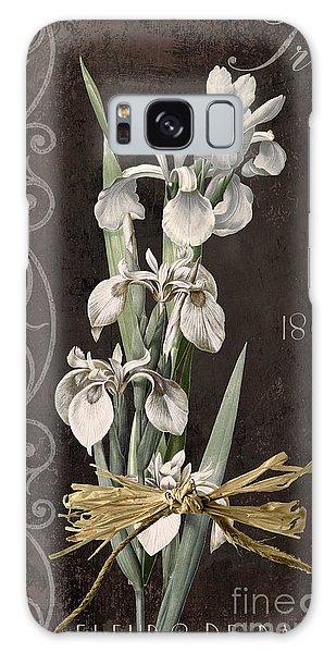 Amaryllis Galaxy Case - Fleurs De Paris II by Mindy Sommers