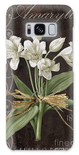 Amaryllis Galaxy Case - Fleurs De Paris by Mindy Sommers