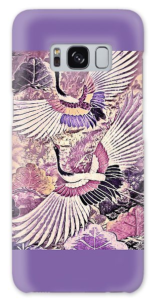 Flight Of Lovers - Kimono Series Galaxy Case