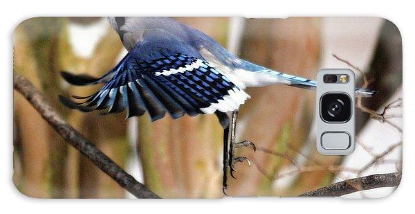 Flight Of The Blue Jay Galaxy Case