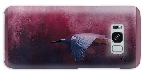 Egret Galaxy Case - Flight Of The Egret by Marvin Spates