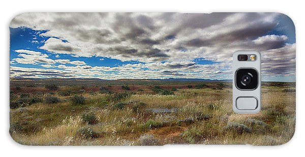 Flinders Ranges Fields  Galaxy Case by Douglas Barnard