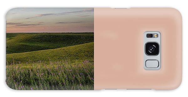 Flint Hills Sunset Pano Galaxy Case by Scott Bean