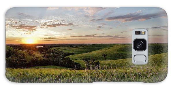 Flint Hills Sunset Galaxy Case
