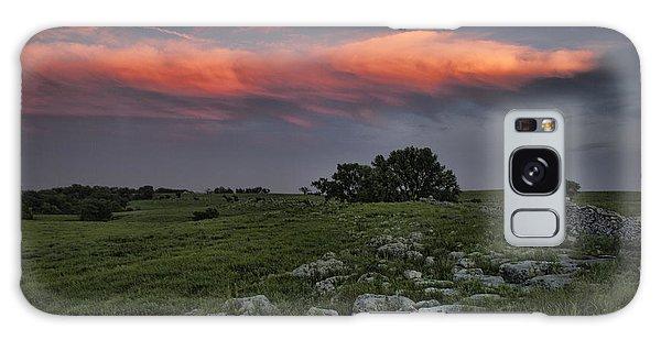 Flinthills Sunset Galaxy Case