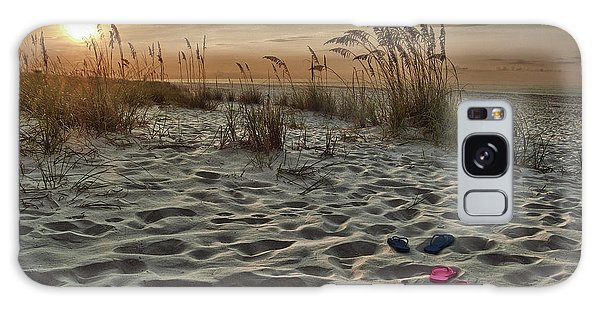 Flipflops On The Beach Galaxy Case