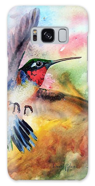 Da198 Flit The Hummingbird By Daniel Adams Galaxy Case