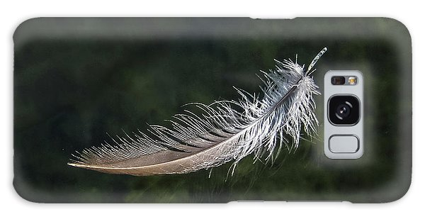 Floating Feather Galaxy Case