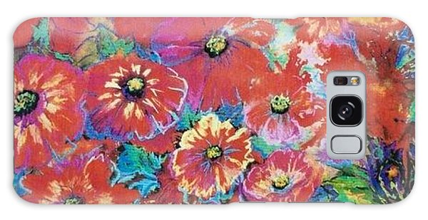 Floating Floral Galaxy Case