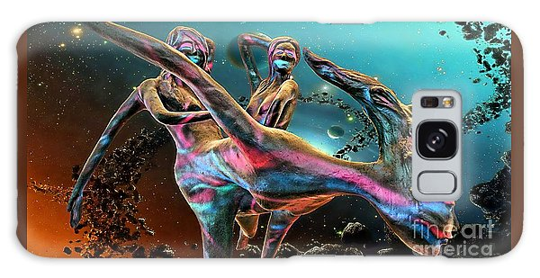 Floating In The Universe Galaxy Case by Ian Gledhill