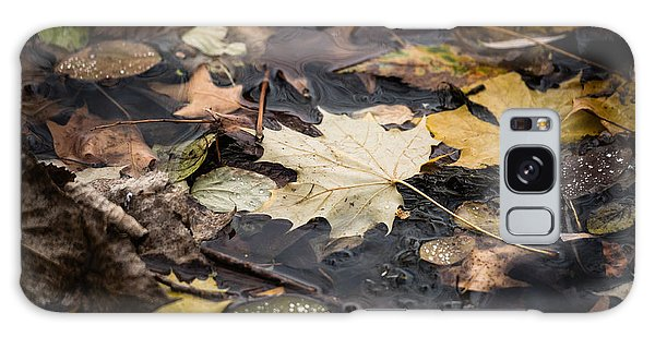 Floating Leaves Galaxy Case