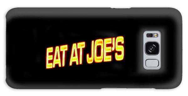 Floating Neon - Eat At Joes Galaxy Case