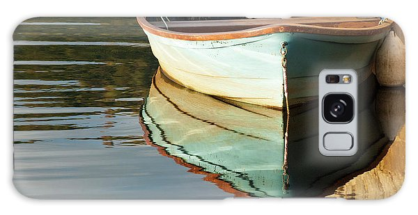 Galaxy Case featuring the photograph Floating On Blue 44 by Wendy Wilton