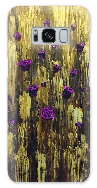 Floating Royal Roses 1 Galaxy Case