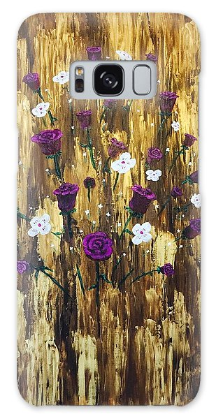 Floating Royal Roses Galaxy Case
